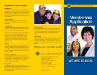 LCI Membership Application - Richmond Lions Club