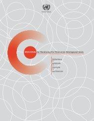 Indicators for Monitoring the Millennium Development Goals