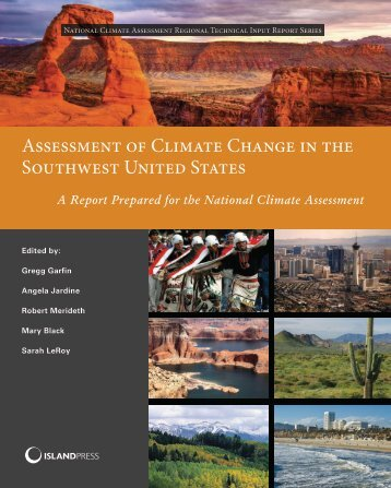 Assessment of Climate Change in the Southwest United States