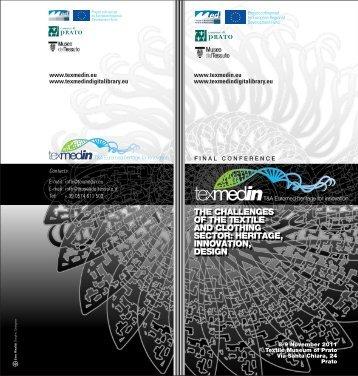 TEXMEDIN Final Conference Agenda