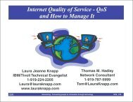 Quality of Service - Laura Jeanne Knapp