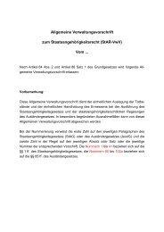 Allgemeine Verwaltungsvorschrift zum Staatsangehörigkeitsrecht ...