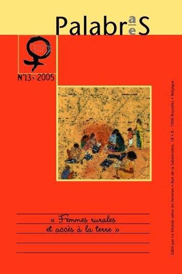 Télécharger la version FR - Le Monde selon les femmes