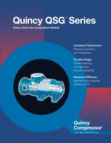 Quincy QSG - CH Reed Inc.