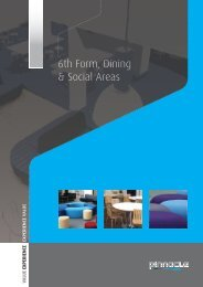 6th Form, Dining & Social Areas - Pinnacle Furniture