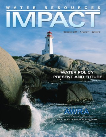 water policy - American Water Resources Association