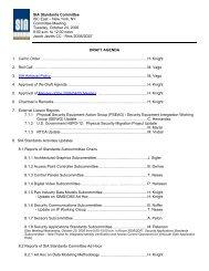 Agenda_2006-10-24 - Security Industry Association