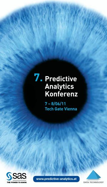 Predictive Analytics Konferenz 2011