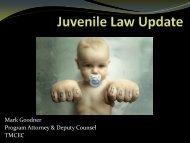 Juvenile Law Update.pdf - Texas Municipal Courts Education Center