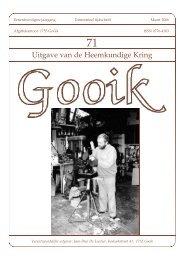 Nummer 71.qxd - Heemkundige Kring van Gooik