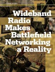 Wideband Radio Makes Battlefield Networking a Reality