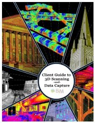 Client Guide to 3D Scanning and Data Capture - BIM Task Group