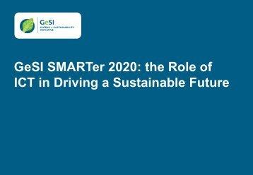 GeSI SMARTer 2020 for GeSI web