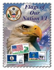 United States Flags of Our Nation VI - American Philatelic Society