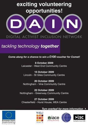 DAIN events flyer.pdf - Nottingham Asian Arts Council