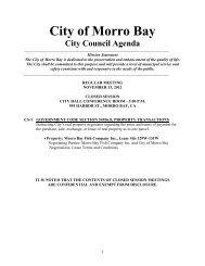 11.13.12 Agenda Packet - Morro Bay