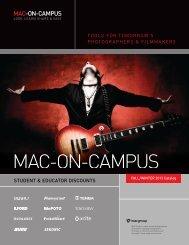 MAC-On-Campus Photo & Cine Gear PDF, 5.7Mb - Mac Group