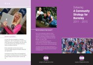 Delivering A Community Strategy for Barnsley 2011 - 2015