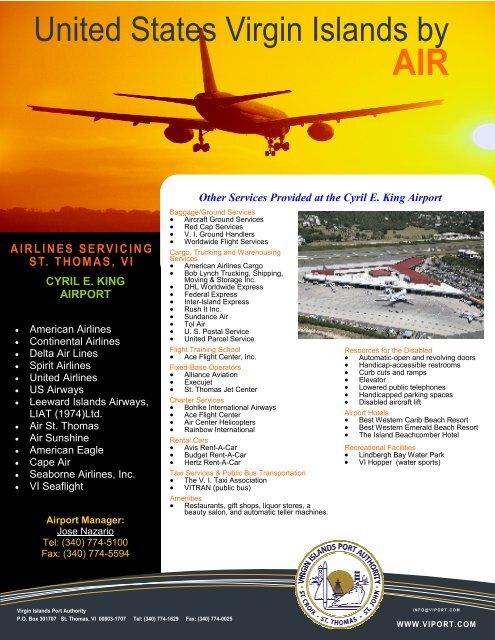 Airport Services Virgin Islands Port
