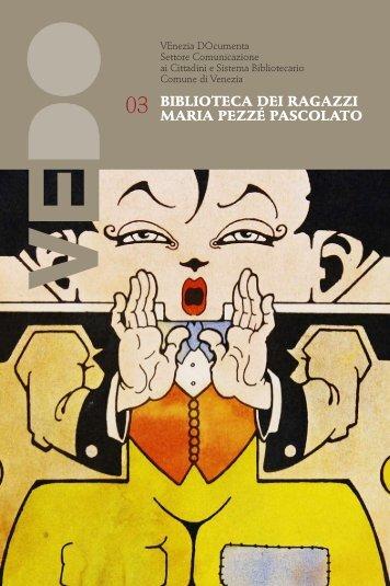 VeDo n.3 Biblioteca dei Ragazzi Maria Pezzé Pascolato