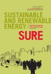 Sustainable & Renewable Energy sector profile - Calgary Economic ...