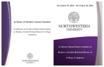 Evidence-Based Interventions to Reduce Alcohol-Related Harm on ...
