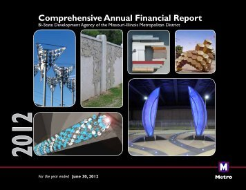 Comprehensive Annual Financial Report Fiscal Year ... - Metro Transit