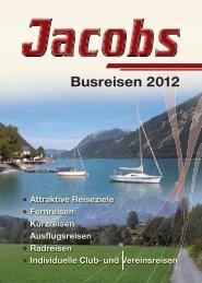 Reiseprospekt 2012 - Jacobs Reisedienst