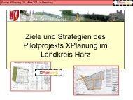 Landkreis Harz - netzwerk   GIS Sachsen-Anhalt