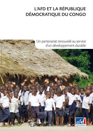 AFD en RDC - Agence Française de Développement
