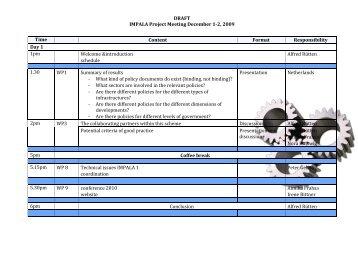 Programme - Impala-eu.org