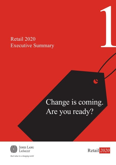 JLL Ch1 Retail 2020 Executive Summary - BID Leamington