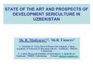 Country report Uzbekistan - BACSA