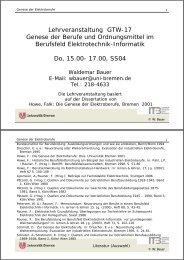 lv-genese-elektro-wb - Institut Technik und Bildung - Universität ...
