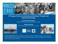 Voices of the Bay - Monterey Bay National Marine Sanctuary - NOAA