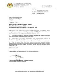 SURAT PEKELILING IKHTISAS BIL. 12/1991 - Kementerian ...