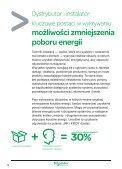 Katalog rozwiązań z dziedziny Efektywności Energetycznej - Page 6