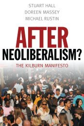 After neoliberalism: analysing the present