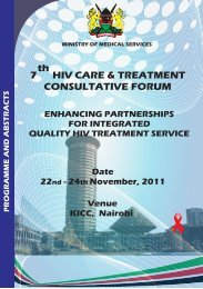 Abstract book - Kenya National AIDS & STI Control Programme ...