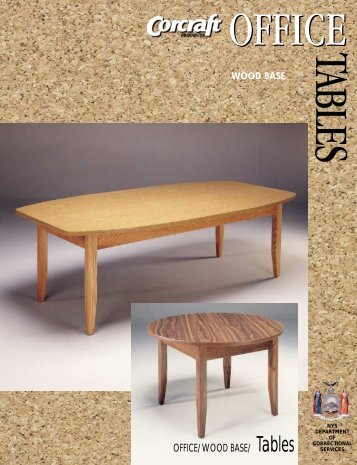 Office Tables - Corcraft