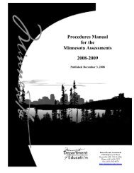 Procedures Manual 2008-09 - Special Education