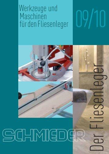 Fliesenleger Katalog - J. KÖNIG