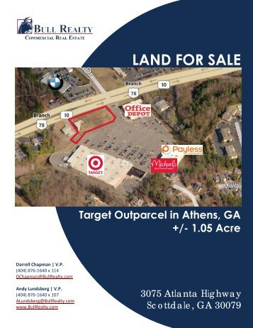 LAND FOR SALE - Bull Realty