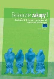 Podręcznik dotyczący ekologicznych zamówień publicznych - Europa