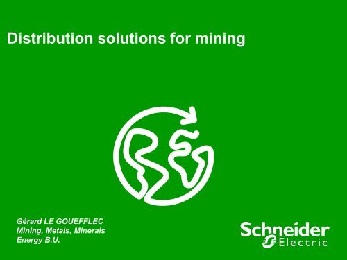 Electrical Distribution Solutions for MMM (pdf 1 ... - Schneider Electric