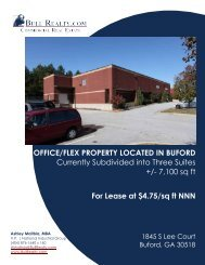 OFFICE/FLEX PROPERTY LOCATED IN BUFORD ... - Bull Realty