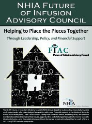 Helping to Place the Pieces Together Through Leadership ... - NHIA