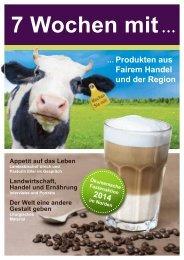 Fasten-Magazin zur Aktion (pdf) - 7 Wochen mit