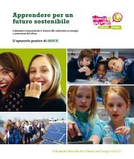 Apprendere per un futuro sostenibile - Schools at University for ...