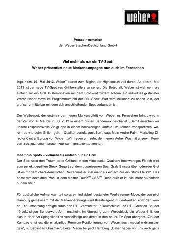 WeberStephen_PM_TV Spot - Weber - Der Grill. Das Original.